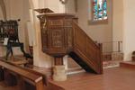 Kanzel der Kirchengemeinde Orsoy
